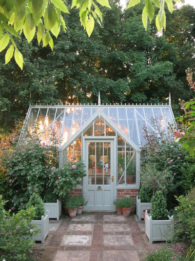 Victorian Garden Shed and Building by Alitex Greenhouses and Conservatories