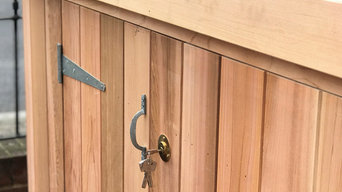 Beautiful Cedar clad Shed for Front Garden