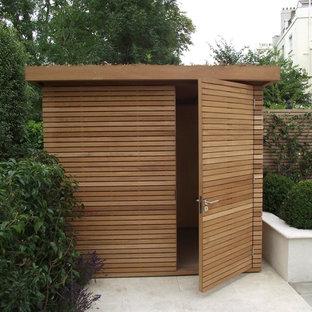 Abri de jardin contemporain avec un abri de jardin : Photos et idées ...