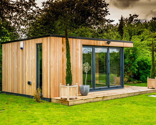 Contemporary Shed Design Ideas Remodels Photos