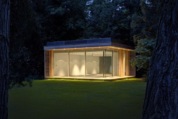 garden shed lighting. contemporary garden shed and building by 3rdspace lighting