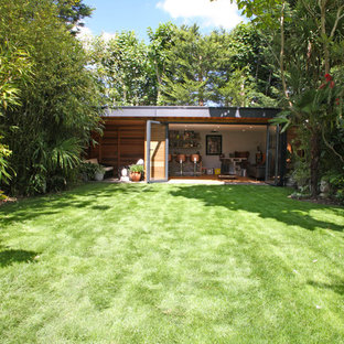 Large contemporary shed and granny flat in Surrey.