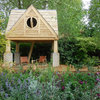 English Country Garden With Its Own Writer's Cabin