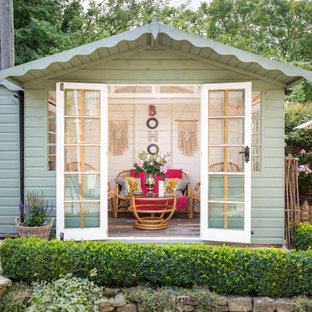 Design ideas for a romantic detached garden shed and building in Gloucestershire.