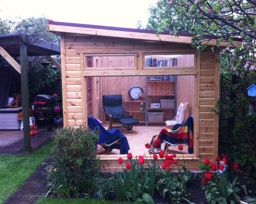 Small Backyard Man Cave : Small man cave houzz