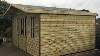 COMPLETE - Summer House 12'x12' in Loglap for Bryn in Ollerton