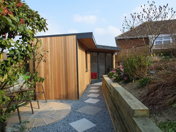 Contemporary Garden Shed and Building by eDEN Garden Rooms