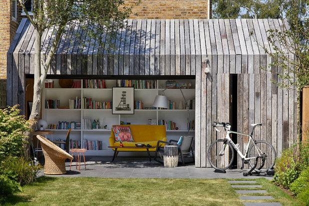 北欧 物置・庭小屋 by MorenoMasey