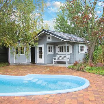 Garden Rooms / Log Cabins