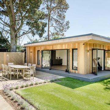 New Build - Garden Room & Landscaping