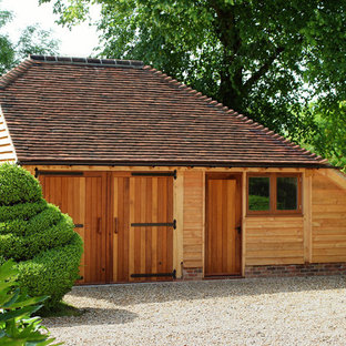 Traditional detached barn in Hampshire.