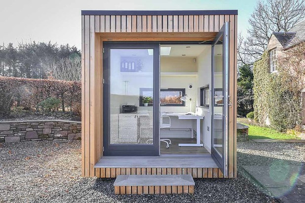 Contemporary Garden Shed and Building by JML Garden Rooms