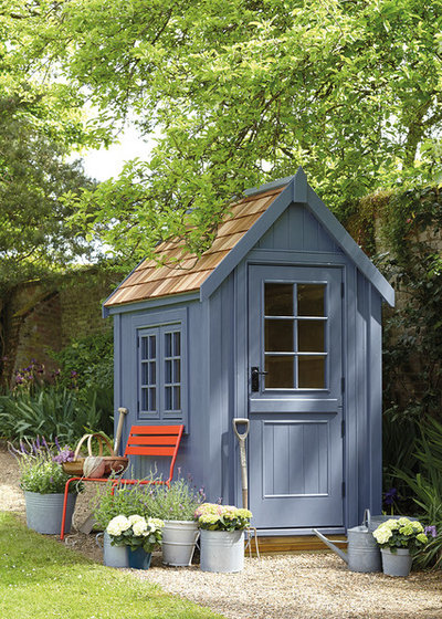 Traditional Garden Shed in addition to Building by The Posh Shed Company