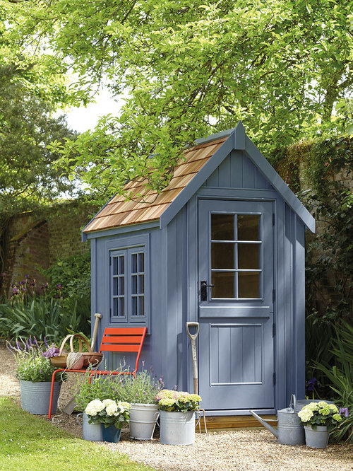 Garden Sheds Ideas 12 stylin shed ideas for your backyard Small Traditional Detached Gardening Shed Idea In West Midlands