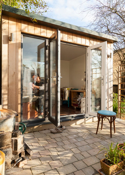 Arts & Crafts Garden Shed and Building by Chris Snook
