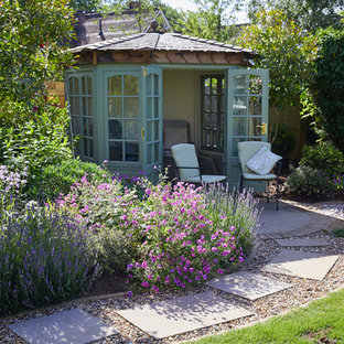 This is an example of a small traditional detached garden shed and building in Hertfordshire.