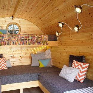 Idéer för små rustika fristående gästhus