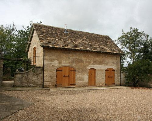 Mediterrane Garage und Gartenhaus in Wiltshire Ideen, Design ...