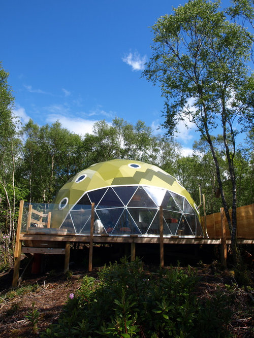 Best geodesic dome design ideas remodel pictures houzz for Geodesic home plans