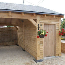Traditional Garage And Shed by The Benfield ATT Group