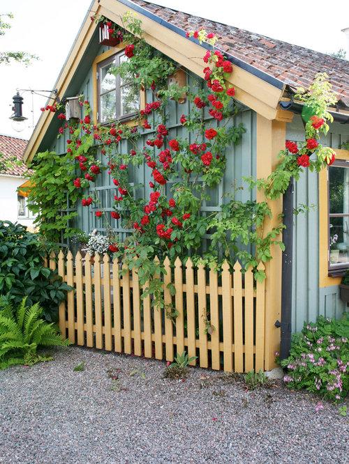 Fotos de casetas dise os de casas de invitados de estilo - Casetas de campo ...