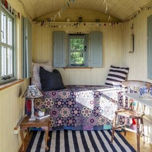 Idéer för små shabby chic-inspirerade fristående gästhus
