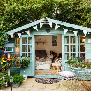 Shabby-chic style detached studio in Cambridgeshire.