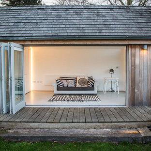 Inspiration för små klassiska garager och förråd