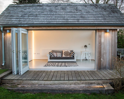 Contemporary Garage and Shed Design Ideas Pictures