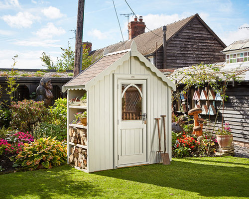 houzz gardening shed design ideas remodel pictures - Shed Design Ideas