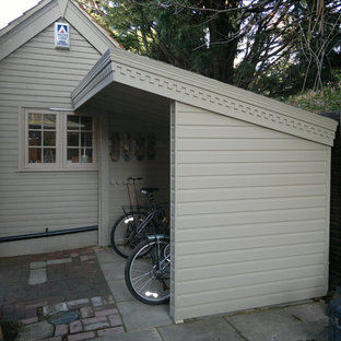Traditional Garden Shed And Building