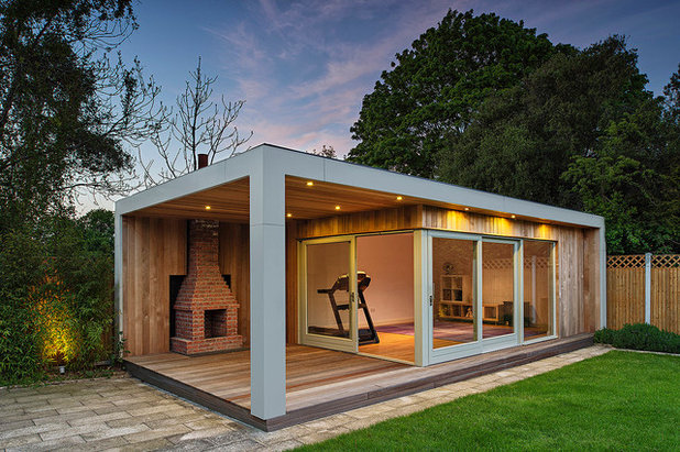 This year s most popular backyard sheds studios and getaways for Contemporary garden buildings