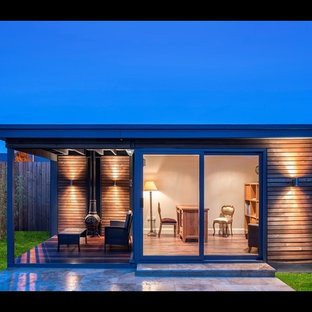 Contemporary garden shed and building in Dublin.