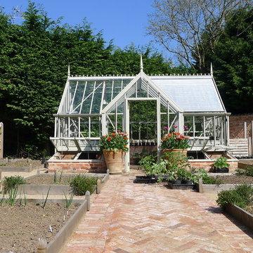 Victorian walled vegetable garden
