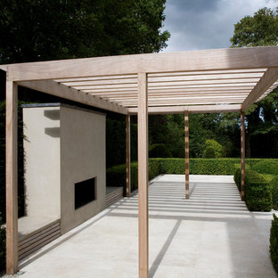 Photo of a contemporary garden shed and building in Surrey.
