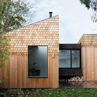 Inspiration for a small scandinavian detached granny flat in London.