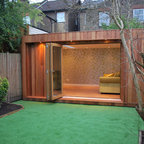 Contemporary Garden Sheds Uk yourgardenroom.co.uk - contemporary - garden shed and building