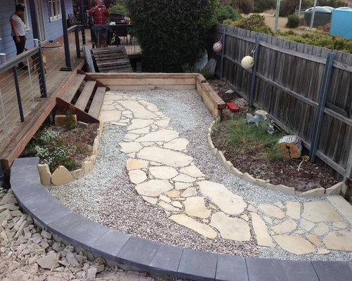 Beach style hobart landscape ideas designs remodels photos for Garden design hobart