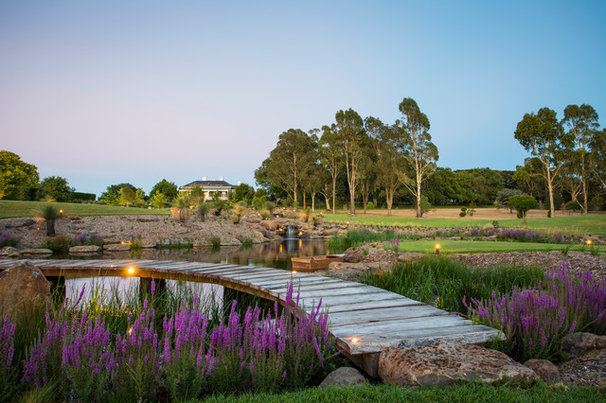 Traditional Landscape By Landscaping Victoria
