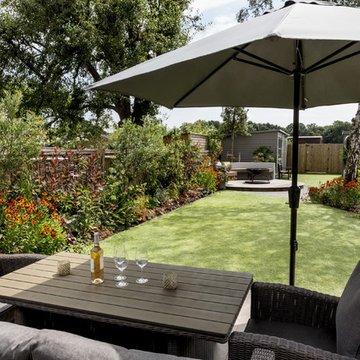 A functional and flowing family garden