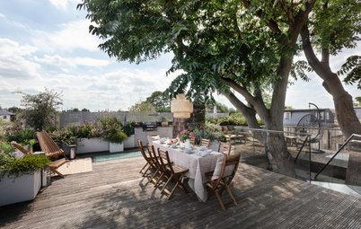 Avant/Après : Un rooftop devient un joli espace de partage