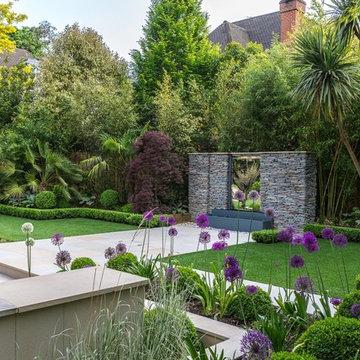 A Split Level Garden