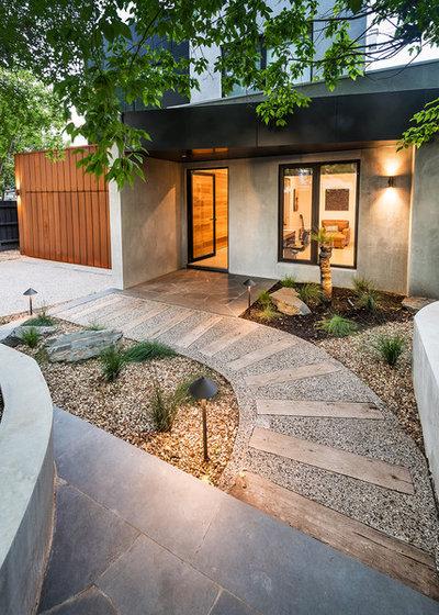 Contemporary Garden by Bayon Gardens