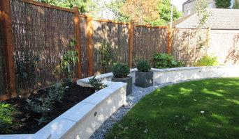 Aberdeen West End Back Garden - After planting
