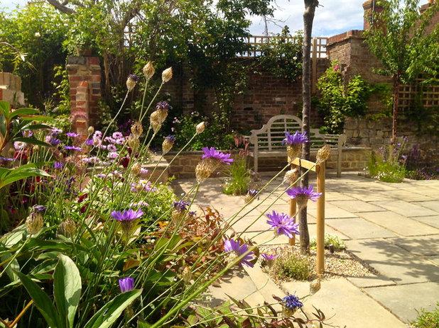 Traditional Garden by Claudia De Yong Garden Design