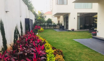 Adarsh Palm Retreat villa landscaping
