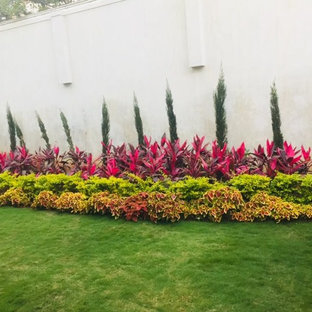 Adarsh Palm Retreat villa landscaping