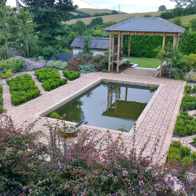 Roger Webster Garden Design Exeter Devon UK Landscape