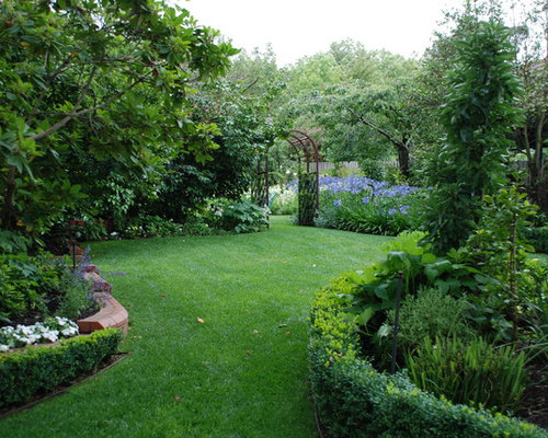 English Garden Landscape Design Houzz