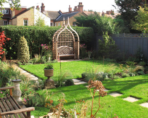 Medium sized garden and outdoor design ideas renovations for Medium garden design